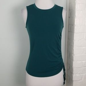 Banana Republic ruched side tank